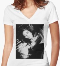 Kylie Minogue Women's Fitted V-Neck T-Shirt