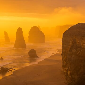 Sunset. The Twelve Apostles. by markhiggins