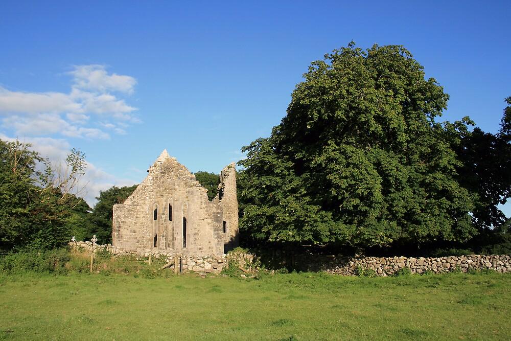 Dysert ruins by John Quinn