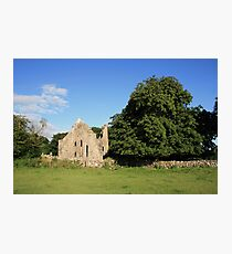 Dysert ruins Photographic Print