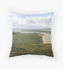 Donegal view Throw Pillow