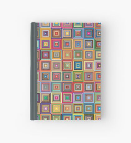 Retro Squares Hardcover Journal