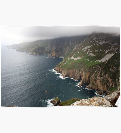 Donegal Cliffs Poster