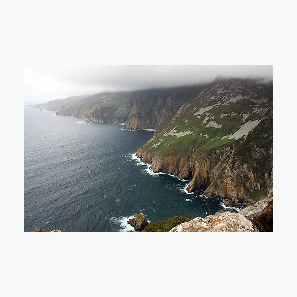 Donegal Cliffs Photographic Print