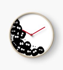 Soot Sprites coming out from Corner Clock