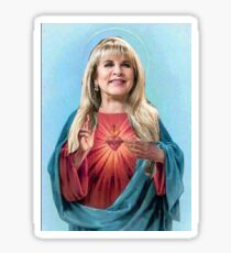 Stevie Nicks as Jesus  Sticker