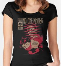 No One Knows  Women's Fitted Scoop T-Shirt