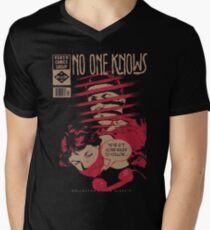 No One Knows  Men's V-Neck T-Shirt