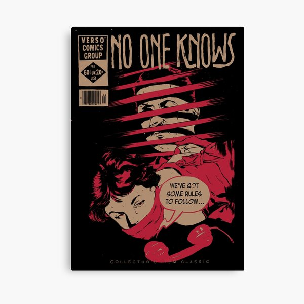 No One Knows  Canvas Print