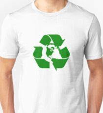 Earth Day Recycle Reuse Reduce Design T-Shirt