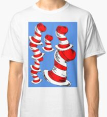 Dr. Seuss Cat In The Hat Hats Classic T-Shirt