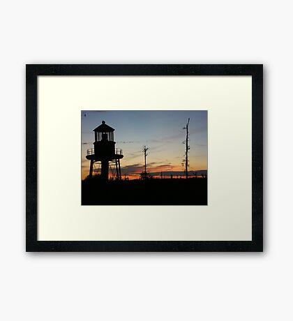 Cory's Lighthouse 2 Framed Print
