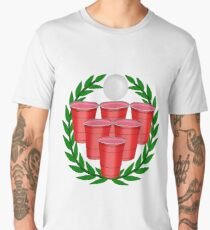 Beer Pong Men's Premium T-Shirt