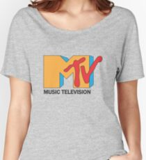 MTV Old and VIntage Women's Relaxed Fit T-Shirt