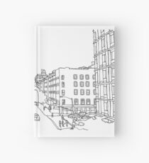 Chelsea NY Line Drawing Hardcover Journal