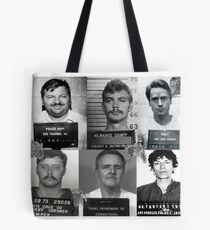 Serial Killer Mugshot  Tote Bag