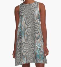 Verdigris A-Line Dress