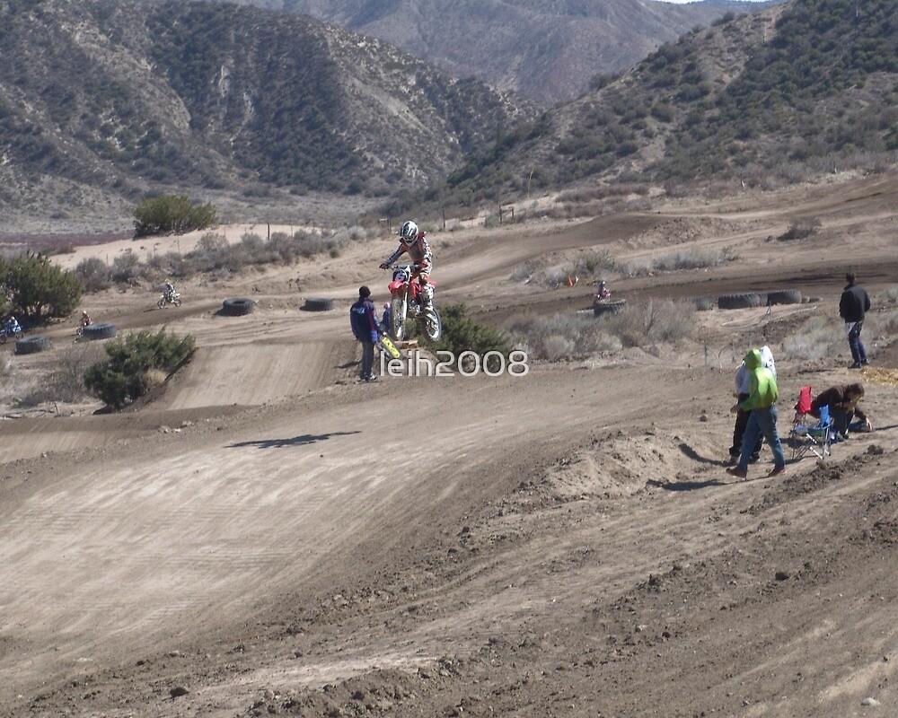 Motocross -#6 Gorman, CA Vet X Racing Series Nice Jump! by leih2008