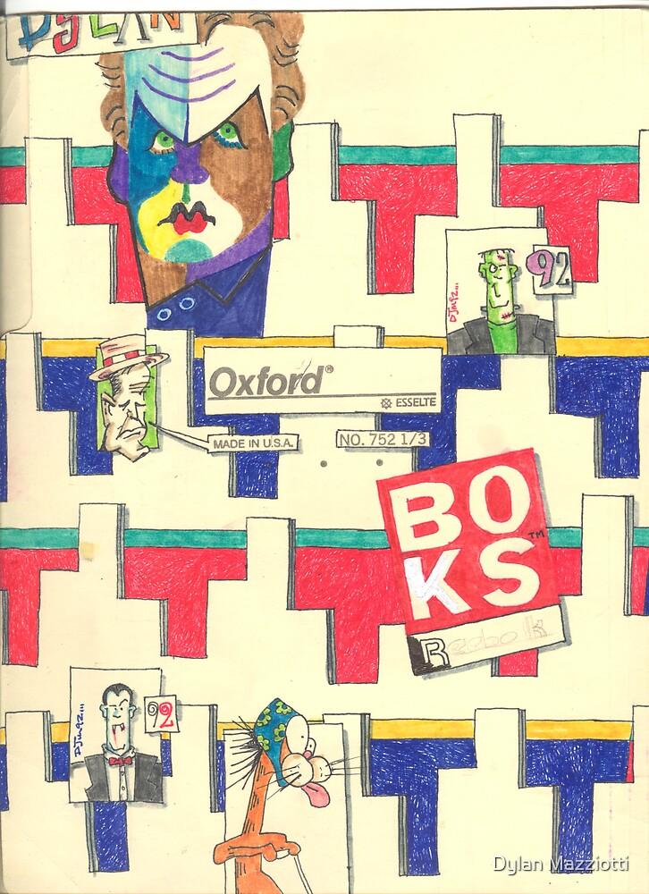Folder 023 - Inside Left by Dylan Mazziotti