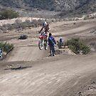 "Motocross Rider #6 Gorman, CA ""Loves the Air in Gorman, CA""  by leih2008"