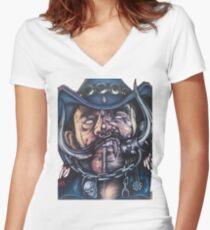 Lemmy T-shirt col V femme