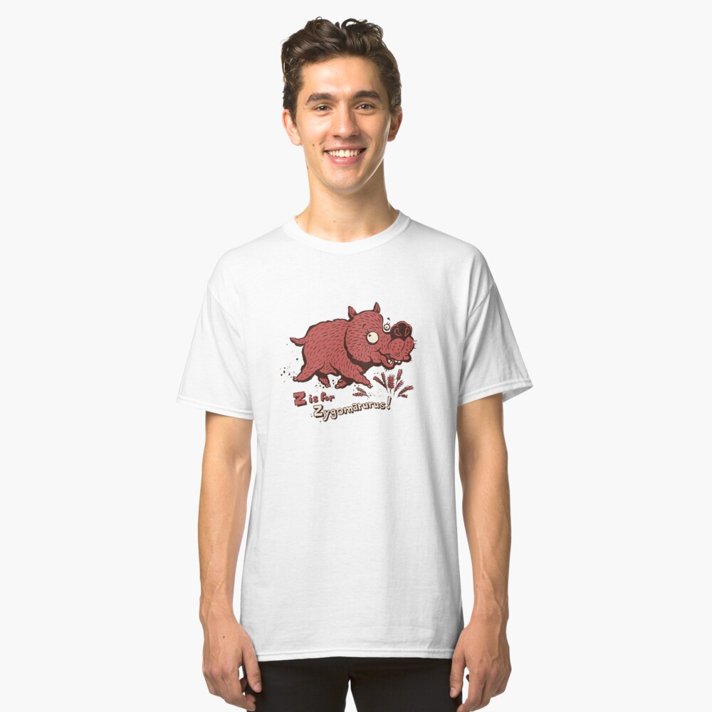 Z is for Zygomaturus! Classic T-Shirt