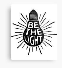 Be The Light - Feminist Shirt  Metal Print