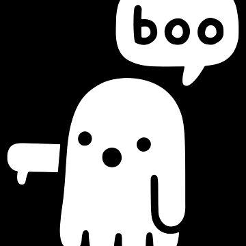 Funny T Shirt - Halloween Boo Boo Boo  by Meli145
