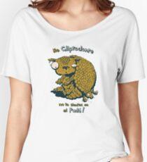 No Gliptodonte, no te sientes en el Pudu! Women's Relaxed Fit T-Shirt