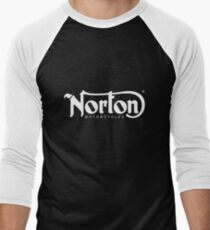 Norton Motorcycle Merchandise Men's Baseball ¾ T-Shirt