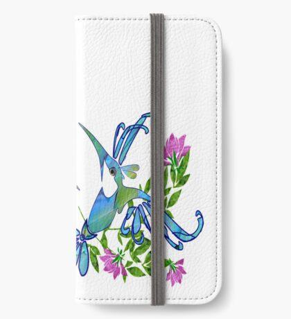 Birds & Flowers iPhone Wallet