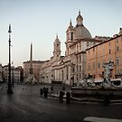 Piazza Navona at Dawn by Susie Peacock