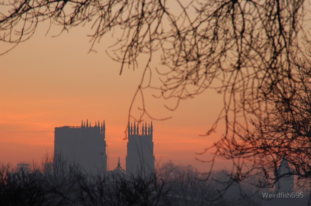 York Minster (Winter sunrise) by Weirdfish695