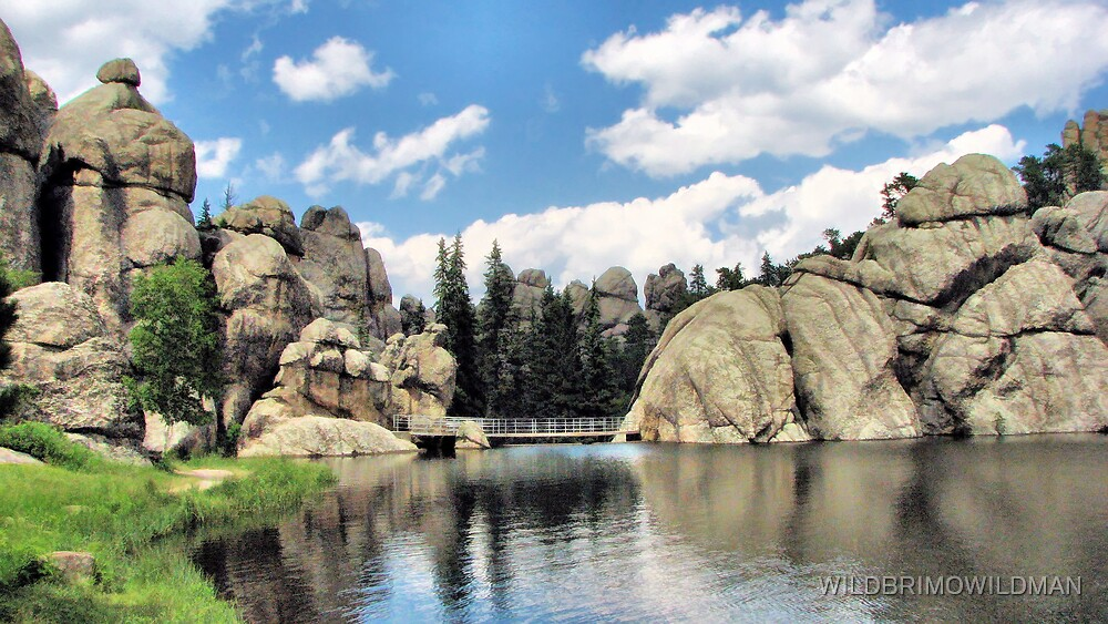 Sylvan Lake by WILDBRIMOWILDMAN