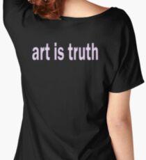 Art is Truth Steven Wilson Women's Relaxed Fit T-Shirt