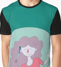 """Flower Girl""  Graphic T-Shirt"