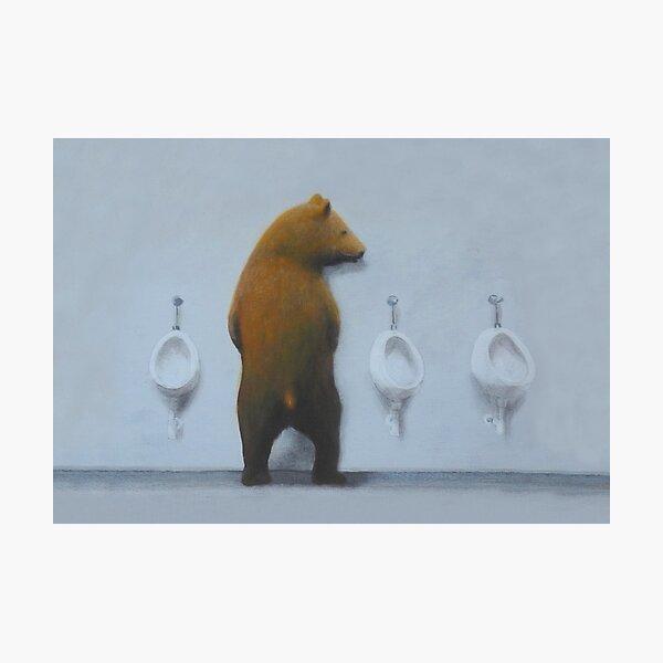 Urinal Mate Fotodruck
