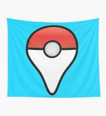 Pokemon Go Map Location Point Wall Tapestry