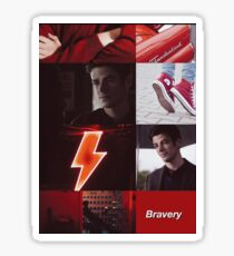 barry allen moodboard Sticker