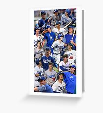 cody bellinger collage Greeting Card