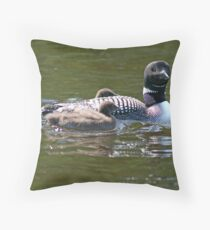 Motherly Protection Throw Pillow