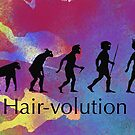 Hairvolution by JustNatBros