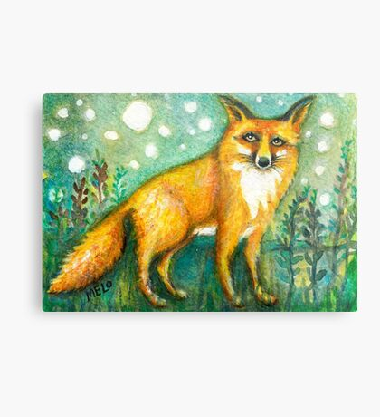 Karma Fox Metal Print