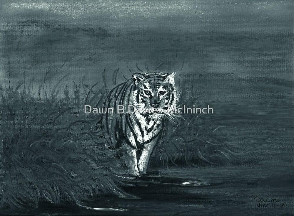Midnight Stroll by Dawn B Davies-McIninch