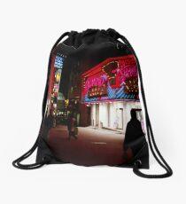 Pink pachinko Drawstring Bag