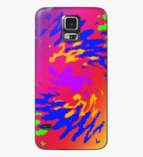 Psychedelic Splodge Case/Skin for Samsung Galaxy