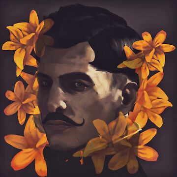 Dorian with lilies by art-by-let