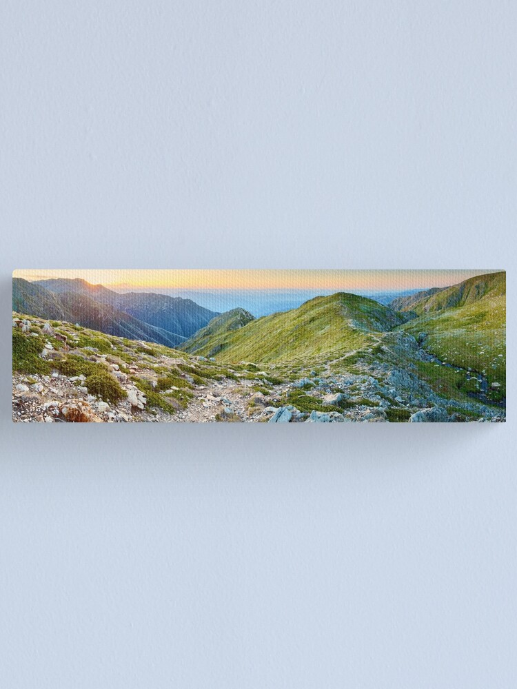 Alternate view of The Sentinel, Kosciuszko, New South Wales, Australia Canvas Print