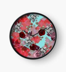 ROSEN'Rose #redbubble #giftoriginal Clock