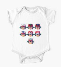 Ash Ketchum / Satoshi x7 Kids Clothes